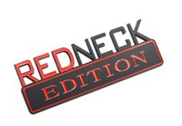 1PCS المتخلف EDITION شعار 3D شارة الكبير W لنوبات F150 F250 F350 أسود أحمر