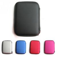 Sıcak Satış Moda Taşınabilir Fermuar Dış Koruma için 2.5 inç HDD Çanta Case Kılıfı Standart 2.5 '' GPS Sabit Disk Sürücüsü cihaz