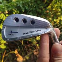 Jean-Baptiste JB301 Eisen Set Köpfe 7pcs / Sätze # 4-9P Golfclubs geschmiedet Kohlenstoffstahl Eisen Männer Frauen 2020 Neu (nur der Kopf, ohne Welle)