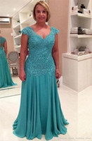 Modern Plus Size Mother of the Bride Dresses Vestidos Madre ...