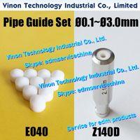 Ø0.1-Ø1.8 Z140D Guide + Rubber Seals Set voor Charmilles HD10, HD20 boormachine 200001062.200001056.200001072.200001011.200001012.200001047