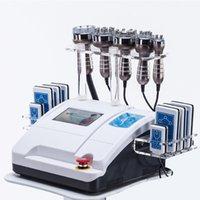 초음파 Cavitation 무선 주파수 Lipolaser 슬리밍 기계 진공 RF 피부 강화 아름다움 장비