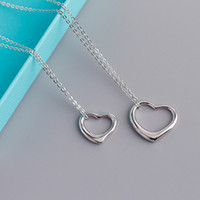 Designer Jewelry Luxury Women 925 Sterling Silver Love Neckl...