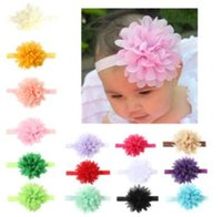 Baby Girls Headbands Vivid bury flower Infant Kids Hair Acce...