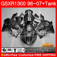 Body For SUZUKI Hayabusa GSXR 1300 GSXR1300 96 02 03 04 silv...