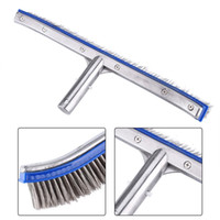 Waterproof 18inch Swimming Pool Steel Brush Bottom Cleaning ...