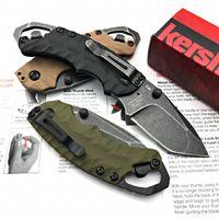 Grande OEM Kershaw 8750 1730 3655 C81 Cryo G10 Assistida punho tático Folding Knives 8Cr13Mov 58HRC Camping Caça sobrevivência Canivetes