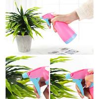 플라스틱 손 압력 급수 캔 정원 작은 식물 꽃 물을 냄비 DBC VT0887를 들어 스프레이 병 조절 급수 캔 미용
