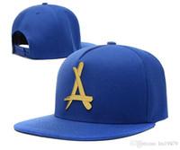 Tha Alumni Metal A Logo Czapki baseballowe 2020 Nowa marka Hip Hop dla mężczyzn Kobiety Rap Casquette Snapback Hats