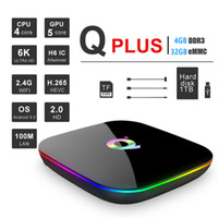 Android 9. 0 TV Box Q Plus Quad Core 4GB 32GB H6 Chip 2. 4G Wi...