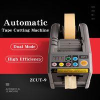 التلقائي الشريط موزع 110 فولت 220 فولت نسخة التلقائي آلة قطع ZCUT-9 لاصق الحز