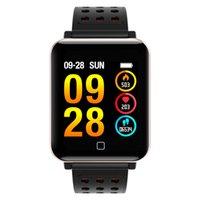 M19 Smart-Armband Fitness Tracker Blut-Sauerstoff-Blutdruck-Puls-Monitor-Sport Smart Watch wasserdichte Armbanduhr für iPhone und Android