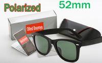 Sommer Mode im Freien polarisierte Sonnenbrillen für Männer und Frauen Sport Unisex-Sonnenbrillen Black Frame Sunglasses + Fall Box Tuch 52mm KOSTENLOSER VERSAND