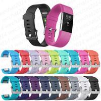 Силиконовые часы группы ремешок для часов сердечного ритма Смарт браслет браслет носимого ремень Ремень для FitBit Charge 2
