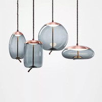 New Loft Retro Industrial Glass Edison Pendant Lights For