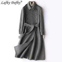 0e1381c40d Wholesale korean wool skirt online - Anti season Clearance Spring New  Double sided Wool Overcoat Woman