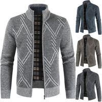 힙합 겨울 남성 캐주얼 스트리트 카디건 스웨터 재킷 jaqueta masculino chaqueta 아저씨 casaco masculino veste 옴므