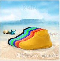레인 슈즈 부츠 미끄럼 방지 방수 레인 코트 커버 실리콘 비 구두 물 재생 신발 Overshoes가 미끄럼 방지 비치 비가 양말 LTYP121