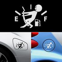 10 cm * 14 cm Komik Araba Çıkartmaları Yüksek Gaz Tüketimi Çıkartması Yakıt Gage Boş Çıkartmalar Vinil JDM Araba Çıkartmalar Araba Styling