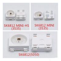100 unids SK6812 LED chip 5050/3535 RGB SMD (Similar con WS2812B LED Chip) Dirección individual DIGITAL DIGITAL LED LED Pixels DC5V