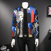 mixed color jacket 2018 mens bomber jacket luxury social clu...