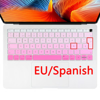 Euro Spanish keyboard Cover for Macbook 2018 Water Dust Proo...