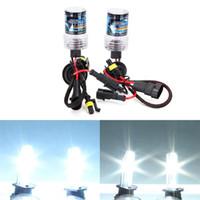 Makibes 6000K 9006 lampadina 55W 12V HID Xenon Kit Car faro allo xeno Slim Ballast - nero + argento