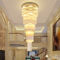 Modern K9 Crystal Chandeliers Lights Fixture LED American Cr...