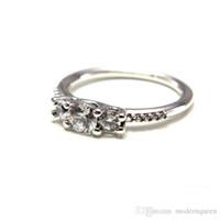 Gemstone Pierścionki 50 S925 Pasuje do mody Pierścienie Fairytale Sparkle Ring 196242CZ H8ale