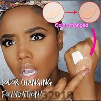 30ml Changement de couleur Changement de la base liquide de la crème de base de la crème de la crème de la peau de votre peau en mélangeant simplement