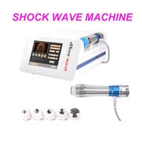 la thérapie de haute qualité à faible intensité thérapie par ondes de choc ED Machine / onde acoustique de la machine de thérapie par ondes de choc pour la douleur traitement / ED machine de traitement