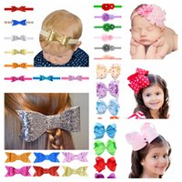 Baby Candy Color Bow Barrettes Girl Hair Bowknot Children He...