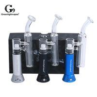 1pc Greenlightvapes G9 Mini Henail cigarette électronique 1500mAh verre tuyau d'eau H Enail Dab Rig E Nail Wax Vape Pen Herb Kit Vaporizer