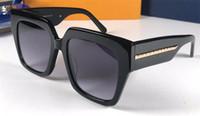 Yeni moda tasarımcısı adam ve kadın güneş gözlüğü 1074 kare çerçeve basit popüler satış tarzı ile en kaliteli uv400 koruyucu gözlük kutusu