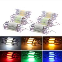 2W DC12V COB LED Module luz com lente projeto impermeável LED Backlights sinal para Trailer Auto Car Veículos RV Boat CRESTECH