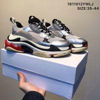 2020 s triplos 20fw das mulheres dos homens de moda de luxo sneakers plataforma sapatos de grife preto produzido brancas dos homens cinzentos verdes treinador sapata ocasional do vintage