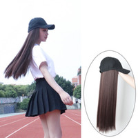 For Girls & Lady Charming Cap Straight Hair Extensions Integ...