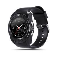연습장 다채로운 V8 스마트 시계 팔찌와 0.3M 카메라 SIM IPS 시계 밴드와 0.3M 카메라에 대한 안드로이드 아이폰으로 상자