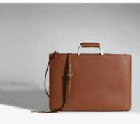 20201 Cof-Leder Business Trip Bag A4 Dokumententasche Aktentasche Hot Man Beste Qualität Computertasche