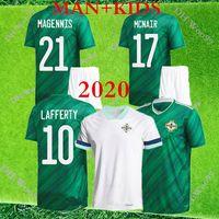 2020 Irlanda do Norte Casa Verde e Ausente Branco Futebol Jerseys Evans Davis Whyte McNair Homem E Crianças Futebol Camisas