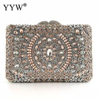 Luxury Women Evening Bags Fashion Pearl Beaded Diamond Women...