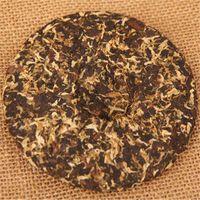 100г Зрелый пуэр чай торт Юньнань хризантема Аромат Черный Пуэр Чай Органические Природный Пуэр Старое дерево Приготовленные Pu'er чай Зеленый Питание