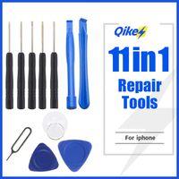 11 en 1 Apertura de teléfonos celulares Kits de herramientas de reparación de pry Smartphone Destornilladores Herramienta para iPhone Samsung HTC Moto Sony