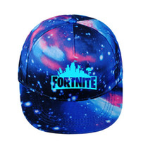 Fortnite Luminous Caps Teenager Baseball Cap with Blue 2018 ...