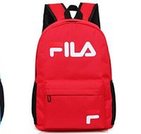 Wholesale- Big Shark Backpack nylon fashion white and Black b...