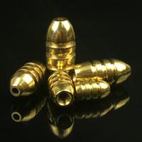 20 stücke 1,8 / 3,5 / 5/7 / 10g Bullet Fishing Copper Anhänger / Bleigewichte / Angeln Platinen Pesca Angelgerät Zubehör