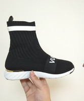 Branded Womens Black Stretch Textile Slip- on Aftergame Sneak...