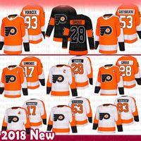 Mens Philadelphia Flyers 17 Wayne Simmonds Hockey Jerseys 28 Claude Giroux 53 Shayne Gostisbehere 93 Jakub Voracek Jersey