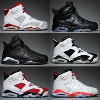 6s 6 Cheap Mens Basketball Shoes Man Unc Black Cat Infrared ...