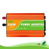 500 W 12/24 / 48V tot 100/110 / 120 / 220/230 / 240VAC 50 / 60Hz Residentiële Huis Hoogfrequente Gebruik Pure Sine Wave Off Grid Inverter